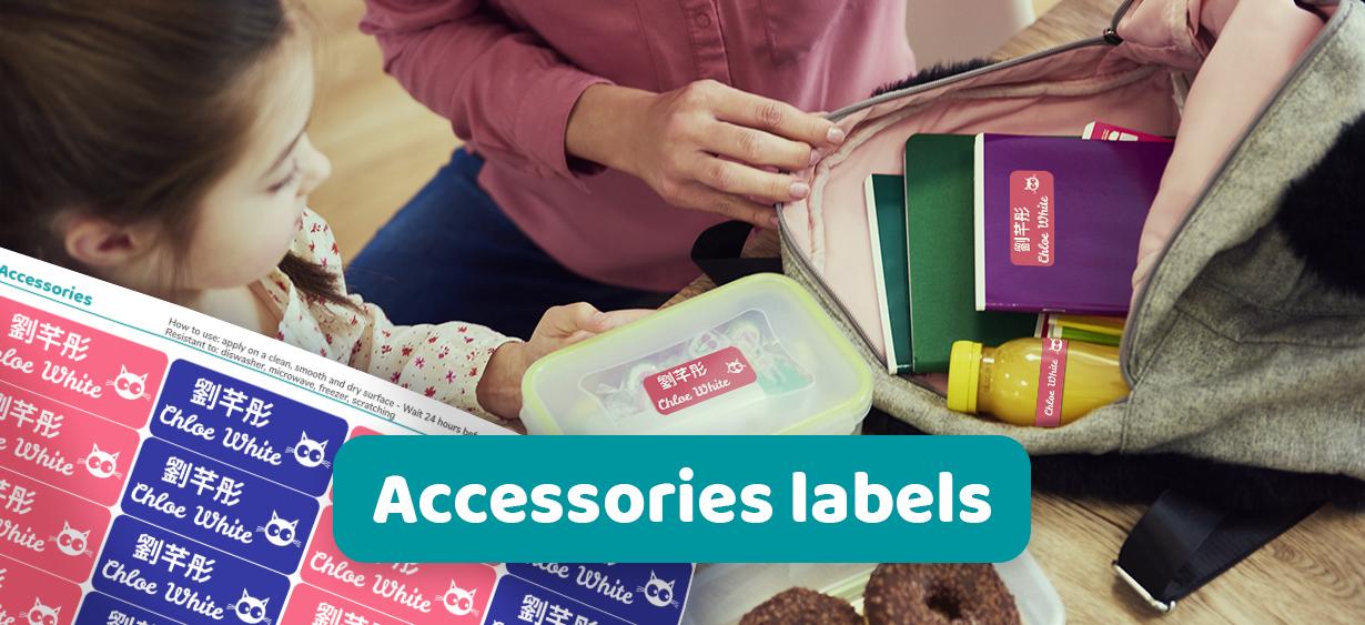 Étiquettes objets